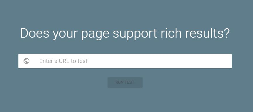 Google's New Rich Results Tool for Testing Web Page Structured Data
