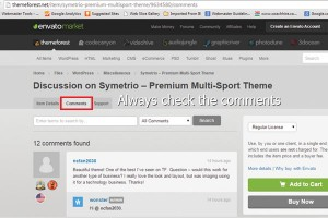 how to design with wordpress always read the comments