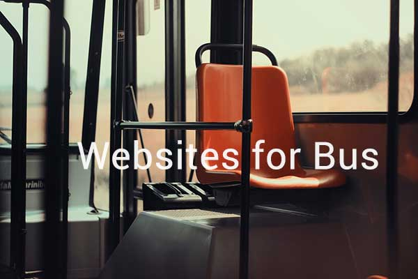 Websites for Bus & Coach Operators