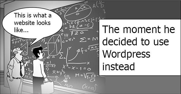 designig using wordpress is easier than any other method